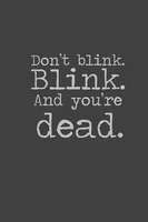 Don't blink. by inkandstardust