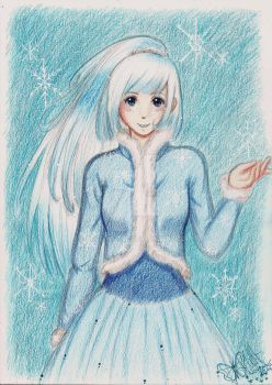 Snowy by RoselyLove