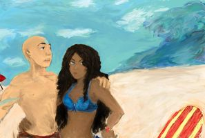 Kataang: Vacation by NuclearKitty17