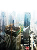 Shanghai Construction by elmhoe