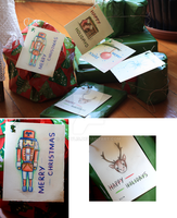 Xmas Cards 2014 by iscaylis