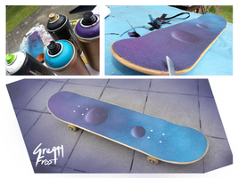My own personal touch of griptape spraying art by GreggyFrost