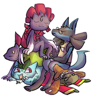 Nerds in a Pile by Tanglecolors