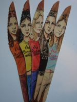 Runaways knives by cozywelton