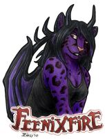 FeeniXfire Badge by Idess