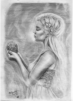 Daenerys Game of Thrones by Tatyns
