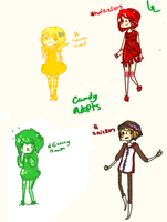 Candy adopts by hanecco
