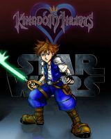 Sora in a galaxy far far away2 by bluejake01