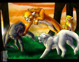 CO 3: Forest Fight by MoonTiger456