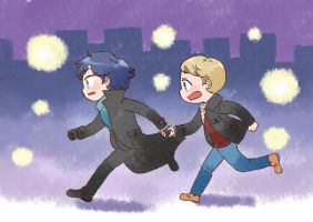 [BBC SHERLOCK] Run by twosugars16