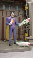 DC SUPER-PETS JOKER AND HIS JOKER FISH by monitor-earthprime