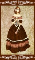 1840s Dress by Seitou