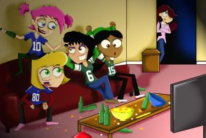 Chips n Grapes- Game Night by xeternalflamebryx