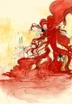 When the Water turns Red by Risata
