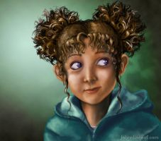 Realistic Character Portrait by magnesium-cookie