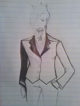 Human for VtM by bigred18