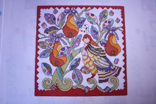 Partridge in a Pear Tree, Cross Stitch Gold 105 by StitchingDreams