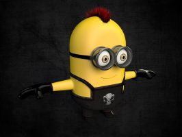Punk Minion by giacko