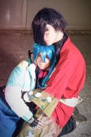 Aoba and Koujaku - Love is the answer by Albitxito