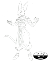 Character Sketch - God of Destruction Bills by MalikStudios