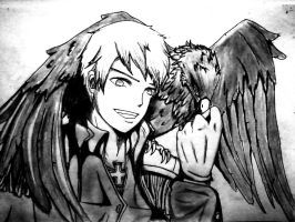 Prussia of the Black Eagle (APH) by DjRoguefire