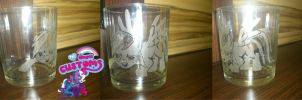 Rainbow Dash glass engrave by angel99percent