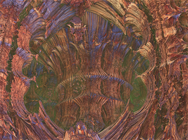 Mandelbulb 3D -- Discovery of the Hidden Cave by SEwing0109