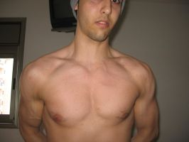 Chest Veins by yair23