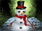 Chappy The Emotionaly Depressed Snowman by punk407