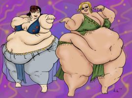 Belly Dancers by Ray-Norr