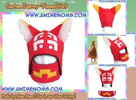Journey Inspired Custom Hat by AnimeNomNoms