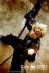 cloud strife_3 by kaname-lovers