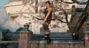 Tomb Raider at sunrise by Posereality4