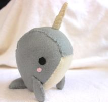 Narwhale Plush by PinkChocolate14