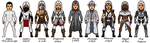 Assassins Creed Through The Ages by Melciah1791