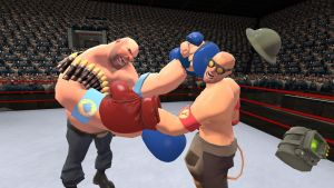 Boxing with me and the Heavy by 0640carlos
