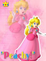 Princess Peach Wallpaper by 1kamz