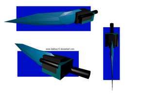 [3D] - Crystal Willow Sword by DabZen