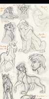 Sketchdump 3 by Mganga-The-Lion