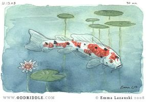 Fish Sketch by emla