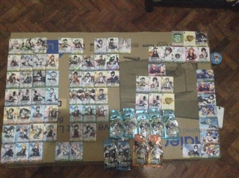[Weiss Schwarz] My Kancolle card collection. by user524