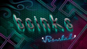 boinks typography by vp021