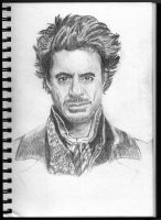 Sherlock Holmes - Downey Jr by rorschach-mentality