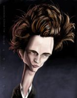 Edward Caricature by DoodleArtStudios