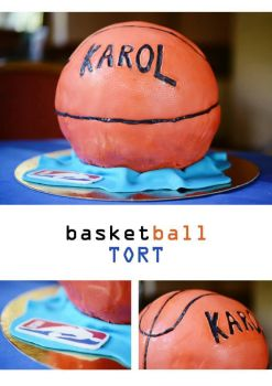 basketball cake by wigur