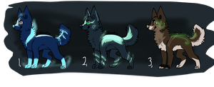 Canines - Make an offer -closed - by Naeezadopts