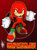 Knuckles 0 to the 9 by ShockRabbit