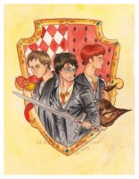 True Gryffindors by xLillyWonka