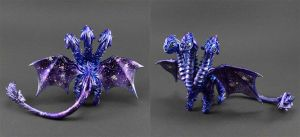 OOAK: Galactic dragon by MyOwnDragon