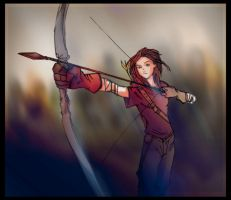 Elenia's Arrow by DominicFrost